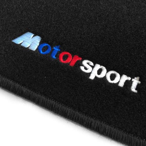 Velours Fußmatten in schwarz für BMW Z4 2002-2008 STICK MOTORSPORT