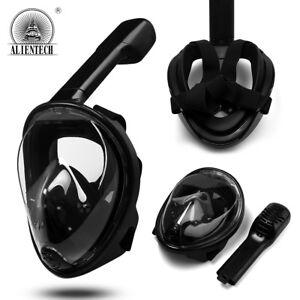 Alientech-Black-Full-Face-Snorkel-Mask-Scuba-Diving-Snorkelling-For-Gopro-3-4-5