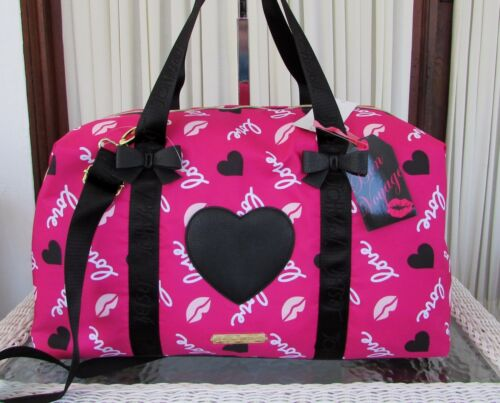 Duffle Betsey We Reizen Nwt Bag Away Fuchsia Johnson Weekender GoDraag W2IDH9E