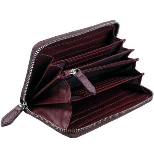 VALENTINO Damen-Geldbörse Weich Glitzer Charm Glitter Portemonnaie Geldbeutel