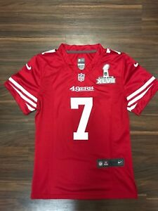 separation shoes 9e695 82787 Details about COLIN KAEPERNICK NIKE SAN FRANCISCO 49ERS SUPER BOWL PATCH  WOMENS JERSEY SMALL S