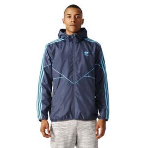 Shell Originals Mens Windcheater Windbreaker Sport Jacket Details Adidas Zu Soft Essentials L4R5Ajq3
