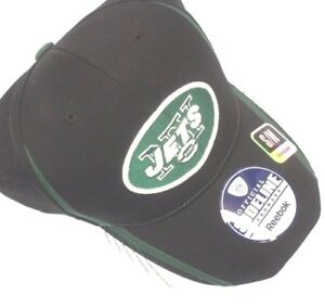 7bd3fcd0919 Official Authentic Reebok NFL NY Football New York Jets Hat Baseball ...