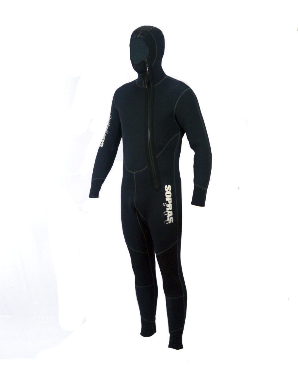 Wetsuit 5mm  Sopras Sub Amalfi Men Hooded Jumpsuit Scuba Diving Hood Full Suit  cheap store