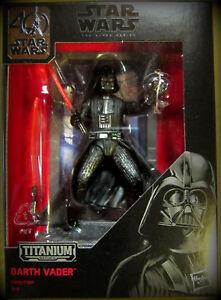 "3,75"" / 10cm diecast Rational Star Wars The Black Series Titanium Darth Vader"