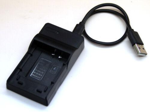 USB Cargador De Batería Para Olympus FE-20 FE-150 FE-220 FE-230 FE-240 FE-250 FE-360