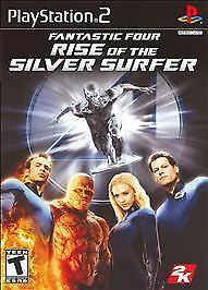 PS2-Fantastic-Four-Rise-Of-The-Silver-Surfer-Video-Game-Playstation-NTSC-T418