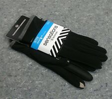 ISOTONER Womens Driving Gloves Smartouch phone touchscreen one size GREY NEW
