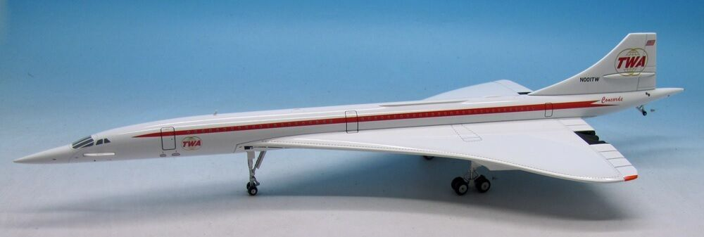 Inflight 200 ifconc 1115 - 1 200 Concorde TWA N001TW & Support Limited Ed 144 pcs