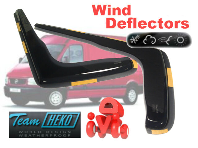 Wind deflectors  2.pc   HEKO  27009 OPEL MOVANO B  2010