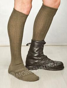 Original-Bundeswehr-Boot-Socks-Bw-Socks-Stockings-Olive-New