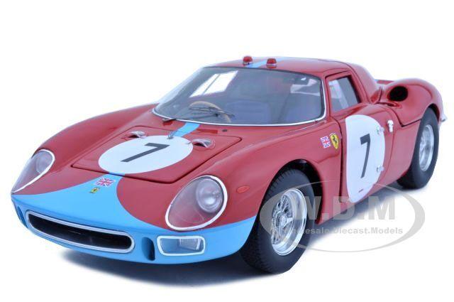 Ferrari 250 Lm 12 horas de Reims 1964 Elite 1 18 Auto Modelo por Hotwheels t6261