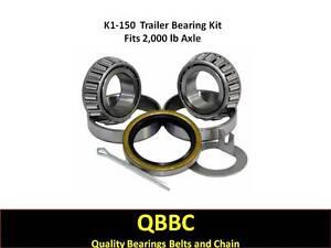 (Qty. 2) K1-150 2,000 lb.Trailer Kit L44649/10 L44649/10 Bearings 10-60 Seal