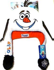 7b46bb58c7f Image is loading NEW-Disney-Frozen-Olaf-Snowman-Flipeez-Beanie-Laplander-