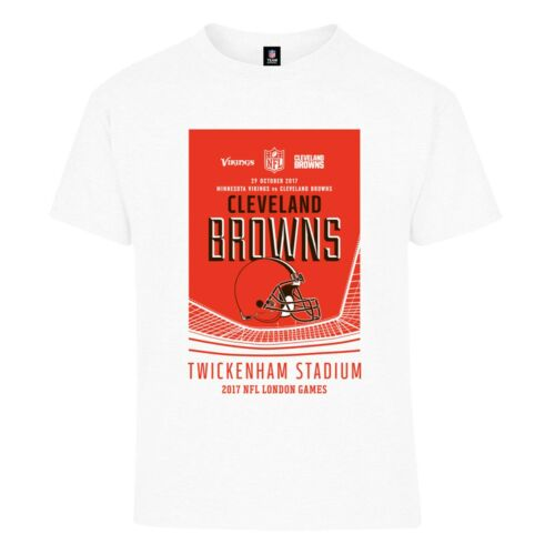 A57 Kids 9-10 years Cleveland Browns London Games 2017 Team T-Shirt