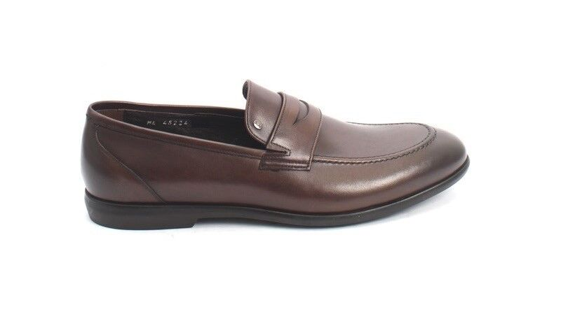 ROBERTO SERPENTINI 45224 marrone Nappa Pelle Classic Dress Scarpe 43 43 43 / US 10 e5339f