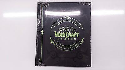 World of Warcraft: Legion Edición de coleccionista el libro arte Inglés Artbook