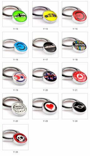 PUSH Engine START BUTTON ADHESIVE COVER Switch Ignition for BMW Mini Cooper Y15