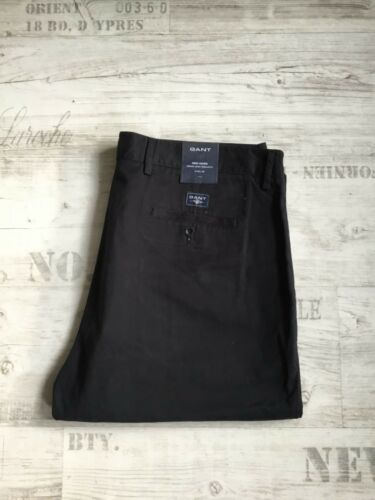 col NAVY NUOVO normale waist Regular Fit w38 l32 8 Gant New Haven the Chino N.H