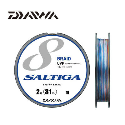 300m 150m Daiwa J-Braid 8 Strand Braided Line 1500m Green//Chartreuse//Multi