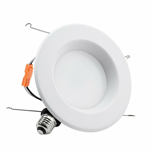 Torchstar 18w 6 Inch Dimmable Led Recessed Light 5000k Ceiling Downlight 1 Pcs