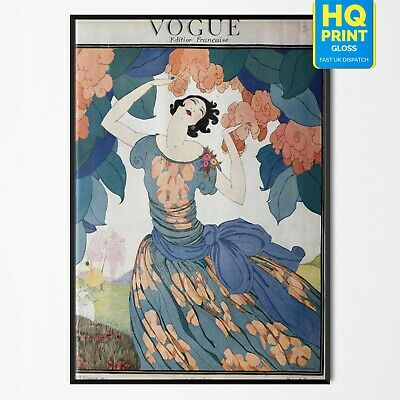 A3 Vogue,A0 A2 A1 Vintage Art Deco Print Painting For Your Glass Frame