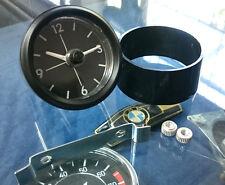 BMW /02 tii 2002 tii Uhr für Armaturenbrett Fadenkreuz komplett mit Blende NEU !