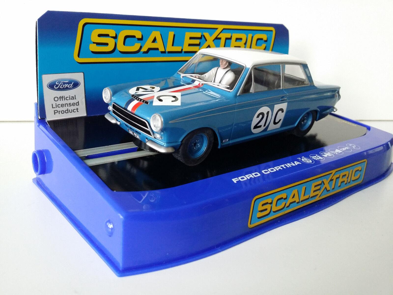 Slot SCX Superslot Scalextric C3670 Ford Cortina GT 1964 Bathurst