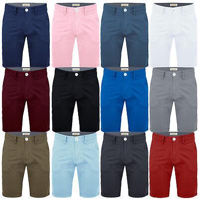 Pantaloncini da Uomo Chino Cotone Estivo Casual Jeans Cargo Combattimento Pantaloni Casual Mezza NUOVO.