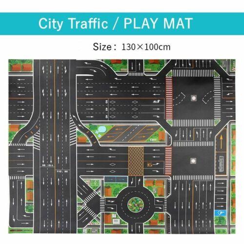 City Traffic Car Park Play Mat Waterproof Car Toys for Children/'s Mat