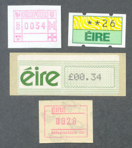 Ireland-Frama postage-labels set of 4 mnh-(various value denominations)*