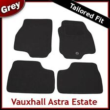 VAUXHALL ASTRA G Estate 1998-2005 1-eyelet Tailored Carpet Car Mats GREY