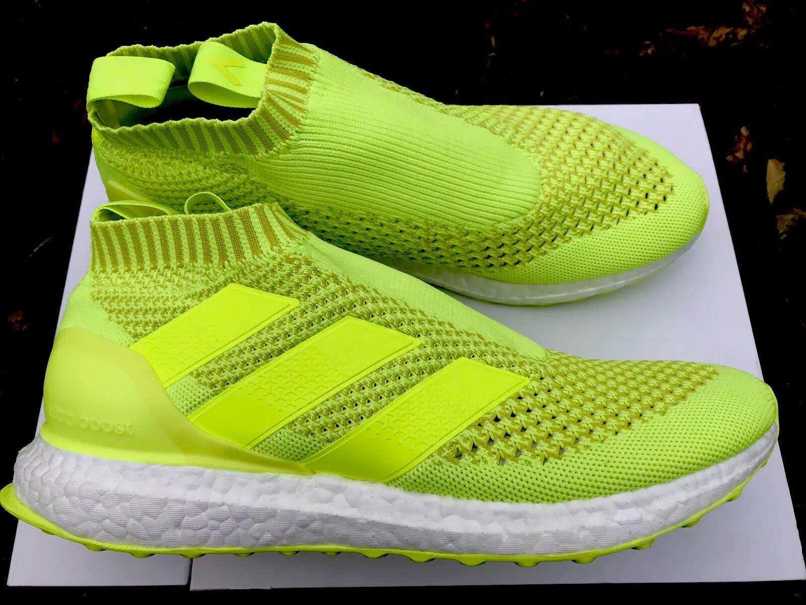 Adidas Ace 16+ purecontrol Ultra Boost Nuevo Y En Caja Neon Amarillo