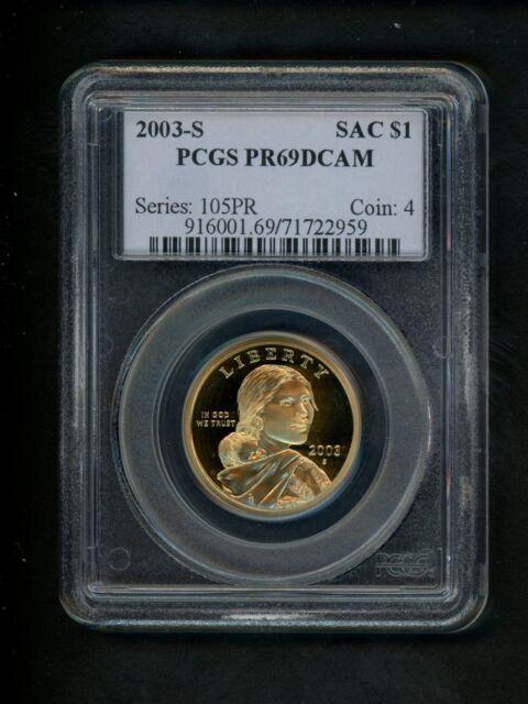 2015-S Sacagawea Native American Dollar PR69DCAM PCGS Proof 69 Deep Cameo