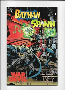 DC Batman Spawn War Devil HIGH GRADE NR-MT Comic Graphic Novel TPB ALAN GRANT