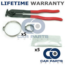 CAR ATV FITS 99% OF VEHICLES CV BOOT CLAMPS X5 GREASE X5 & EAR PLIERS