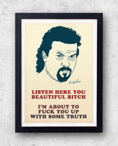 Kenny Powers Poster! Eastbound & Down Quote Print, Danny Mcbride, Will Ferrell,