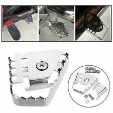 GUANGGUANG Heartwarming Shop Motorcycle Rear Brake Pedal Step Tip Plate Enlarge Extender Fit For BMW R1200GS ADV//R LC F800GS F700GS F650GS R1150GS Color : Black Brake Lever