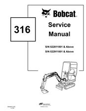 Bobcat 316 compact excavator service manual shop repair book part item 3 new bobcat 316 mini excavator 2006 revision repair service manual 6902285 new bobcat 316 mini excavator 2006 revision repair service manual 6902285 fandeluxe Choice Image