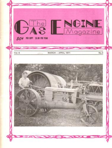 1971 Gas Engine Eclipse Pumpers Fairbanks Morse Venn-Severin Wallis Tractors