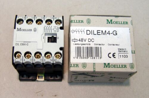Moeller Schütz DILEM4-G 4-polig 4KW 48VDC  NEU//OVP