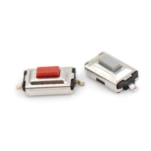 20pcs 3*6*2.5mm Tactile Push Button Switch Tact Switch Micro Switch 2-Pin P/&C
