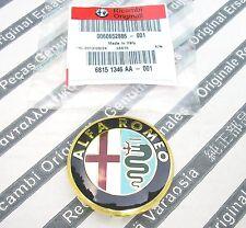 GENUINE ALFA ROMEO 145 147 156 166 GTV & SPIDER  New Alloy Wheel Center Cap 50mm