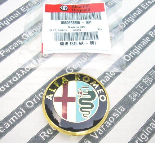 Genuine alfa romeo 145 147 156 166 GTV /& Spider nouveau Centre de Roue Alliage Capuchon 50mm