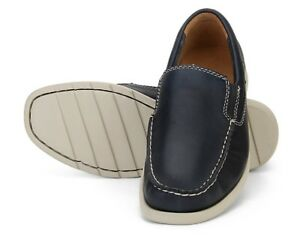 Zapatos-Clarks-039-Redruth-step-039-navy-42-PVP-100-nuevos-Shoes