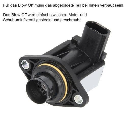 Blow Off Schubumluft-Ventil Adapter 1.4 TSI 1390ccm VW Jetta III IV /& Polo GTI