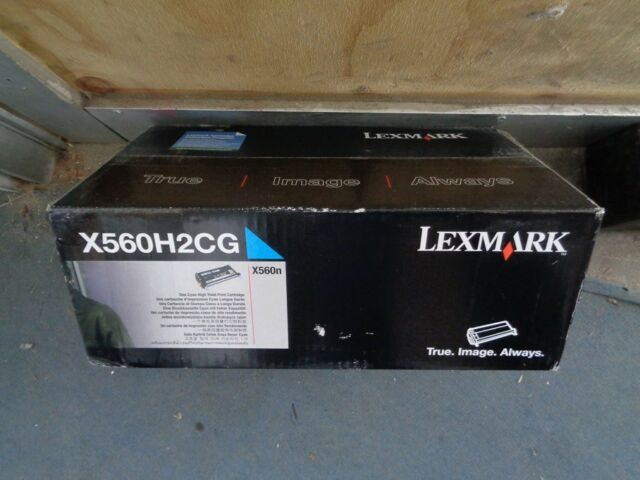 Genuine Lexmark X560H2CG High Yield CYAN Toner Cartridge X560n 10,000 Pages