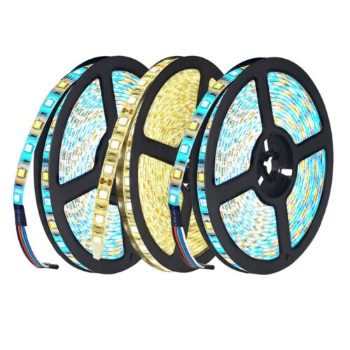 5m 10m 20m 5050 SMD RGB RGBW LED Strip Light Alexa Google WIFI tape lamp set12V