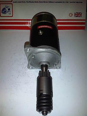 Fits Ford Escort MK2 1.1 1.3 1.6 Brand New Inertia 0.8kw Starter Motor