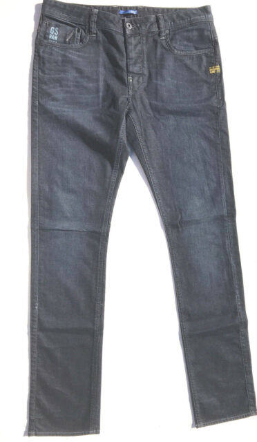 G-Star Jeans 'DEFEND SUPER SLIM' DARK Aged W33 L34 EUC RRP $289 Men